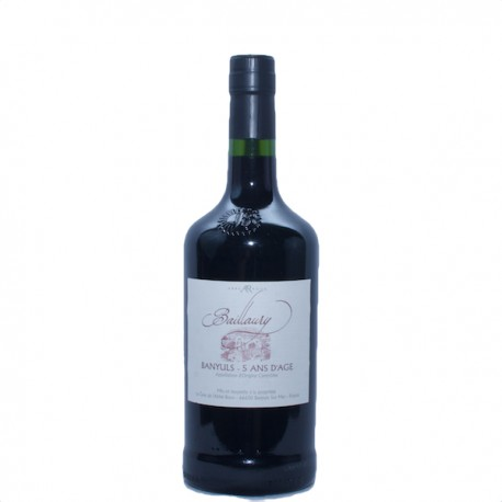 Banyuls Traditionnel - Baillaury 5 ans d'âge
