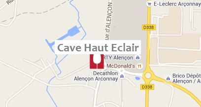 Plan Cave Haut Eclair